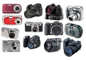 Conserto de Câmeras fotográficas digitais