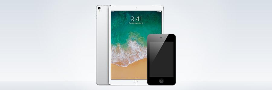 Entenda a diferença entre iPad e iPod